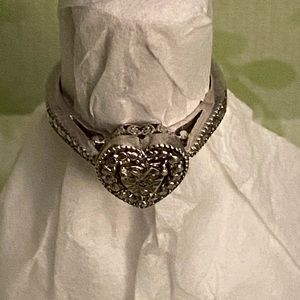 Kay Jewelers heart ring size 7.75